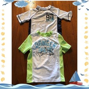 Boys swimming shirt bundle.